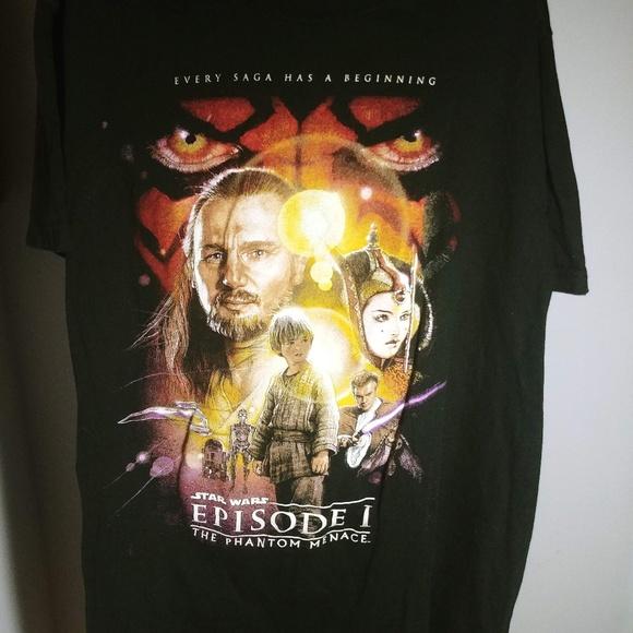 Star Wars Shirts Star Wars Episode Phantom Menace 1999 Large Tee Poshmark